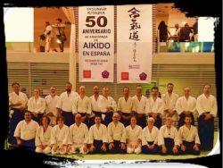 CURS 50 ANIVERSARI AIKIDO ACAE A ESPANYA